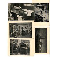 Старинные открытки 11шт .начало 20 века