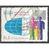 Пакистан. День Народонаселения. 1992г. Mi#852.