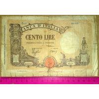 100 лир 1926г. -редкая-