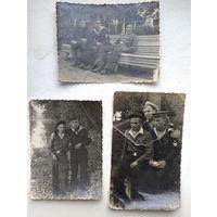 5 фото военных моряков. 1950 г. 8х13 см.(max). Цена за все.