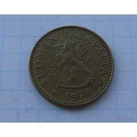 20 пенни Финляндия 1978 год