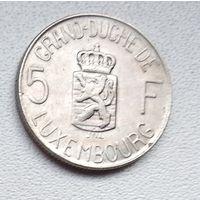 Люксембург 5 франков, 1962 6-2-14