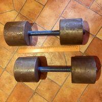 Гантели. 19-20 кг (каждая) Цена за 2 штуки