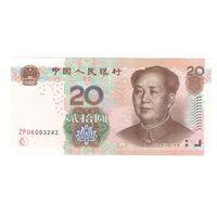 Китай 20 юань 2005 года. Состояние UNC!