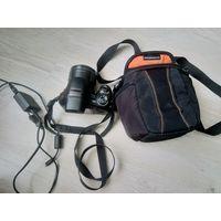 Фотоаппарат sony супер зум всего одна неделя!!!сумка в подарок.