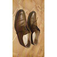 Шикарные туфли из натуральной кожи 41 размера