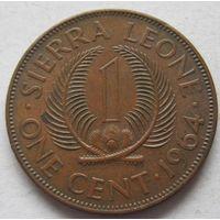 Сьерра-Леоне 1 цент 1964