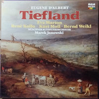 """Eugene D'albert (Эжен д'Альбер) """"Tiefland (Долина)"""" - 3 виниловые пластинки"""