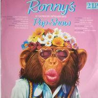 Ronny's Pop Show /32 Hits/1989, CBS, 2LP, VG, Holland