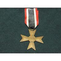 Крест военных заслуг без мечей, КВК 3 рейх, 1939 год, Германия (оригинал).Аукцион с 1.00 руб.