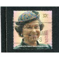 Австралия. Елизавета II.  1988