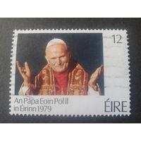 Ирландия 1979 папа Иоанн-Павел 2