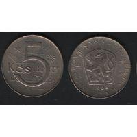 Чехословакия _km60 5 крон 1983 год (f50)(ks00)
