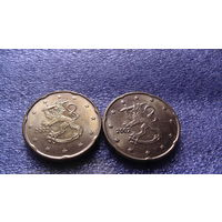 Финляндия 20 евроцентов 2001г. распродажа