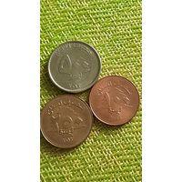 Ливан 100 2006 , 250 2012 ,500 2012 г 3 монеты
