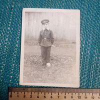 Фотография. Ретро СССР. Школьник, октябрёнок из 1950-х.