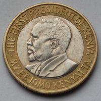 Кения, 10 шиллинг 2005 г