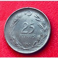 04-28 Турция, 25 куруш 1965 г.