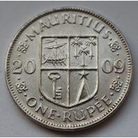 Маврикий 1 рупия, 2009 г.