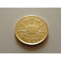 Сейшельские острова. 1 цент 2004 год KM#46