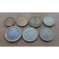 Болгария, лот монет 1999-2002 гг.