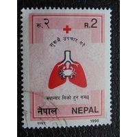 Непал 1995 г. Медицина.
