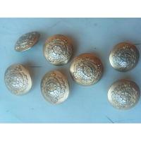 Пуговицы золотистые REGIMENT  5 больших+2 малые