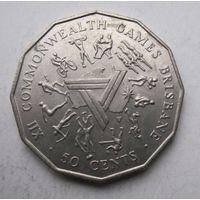 Австралия, 50 центов, 1982