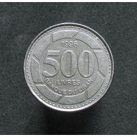 Ливан 500 ливров 1996