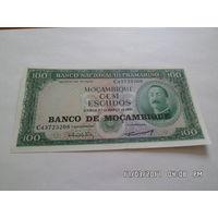 Мозамбик 100 эскудо 1962г.