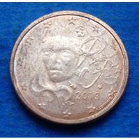 Франция 2 евроцента 2013