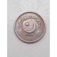 5 рупий 2003 год. Пакистан.