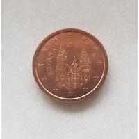 1 евроцент 2015 Испания