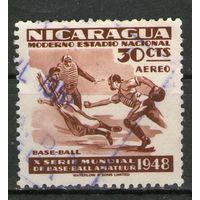 Никарагуа. Гашеная. Лот-3