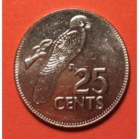 Сейшелы 25 цент 2000