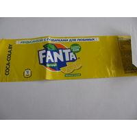 Этикетка от Фанты