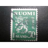 Финляндия 1932 стандарт, герб
