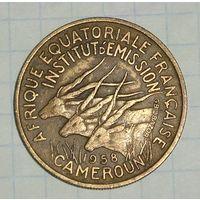 Франц. Камерун 25 Франков 1958 (11)