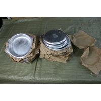 Тарелки армейские, алюминий.  Новые с хранения.