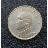 5 долларов Тайваня