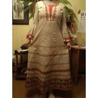Платье беларуское из 1970-х