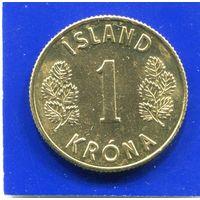 Исландия 1 крона 1973