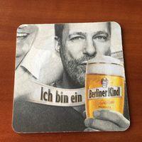 Подставка под пиво Berliner Kindl No 4