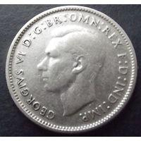 Австралия. 6 пенсов 1948. Много лотов в продаже.