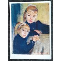 Выспянский С. Портрет двух девочек. 1959 г. Чистая.