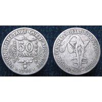 W: Западная Африка 50 франков 1980, западные африканские штаты (1063)