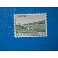 Исландия. 1963 г. Мi-373. Акюрейри.