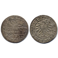 Грош 1527, Жигимонт Старый, Краков