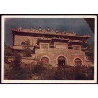 1952 год Китай Храм в окрестностях Пекина