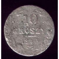 10 грош 1840 год Польша